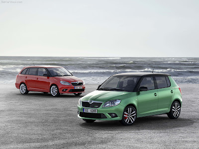 2011 Skoda Fabia RS Wallpaper