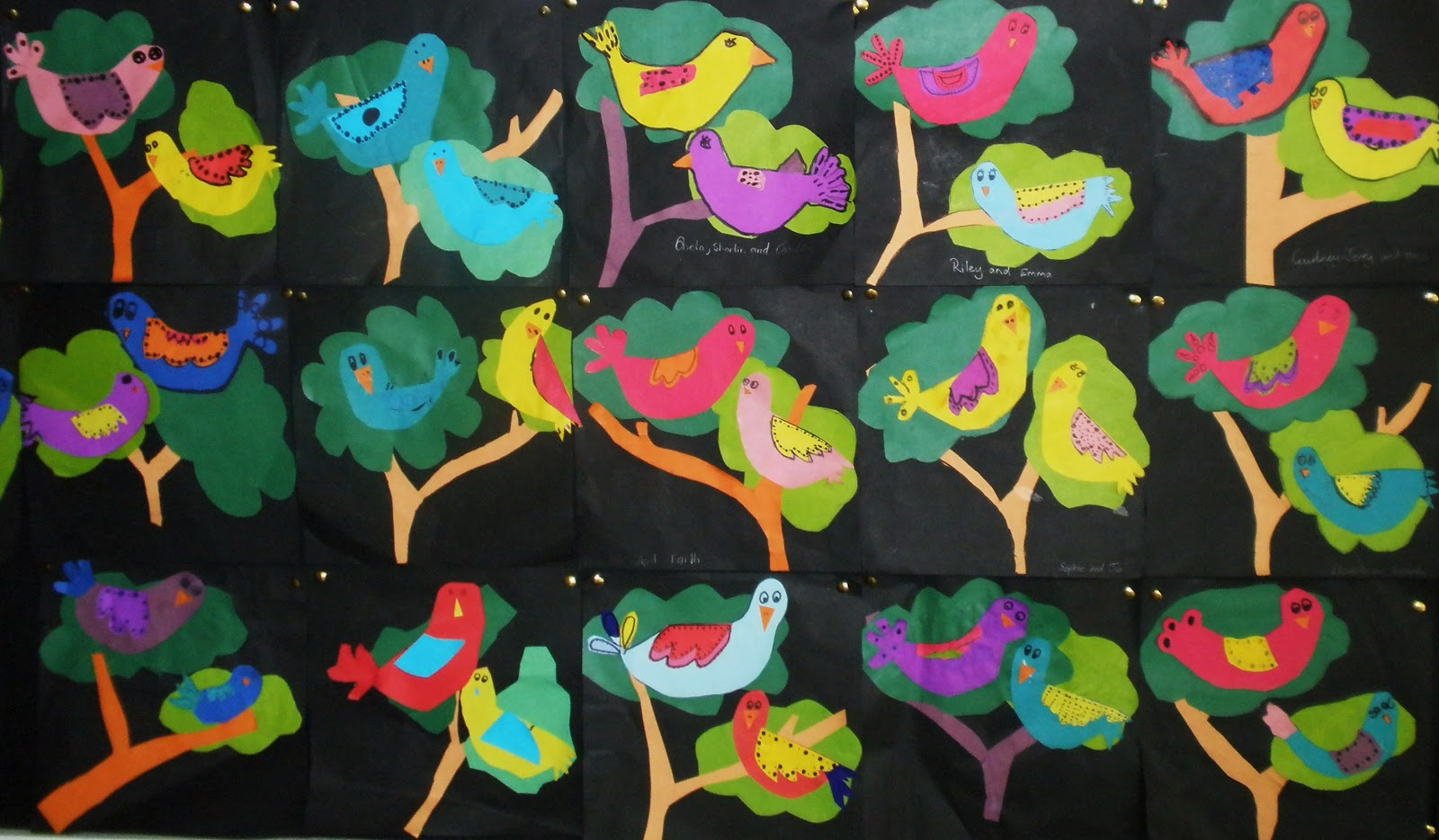 Art with Mrs Baker: Coloured Paper Birds