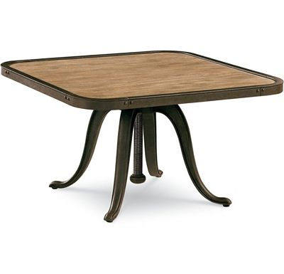 Best Apprentice Adjustable Activity Table transforms from ud high coffee table to a ud high breakfast table