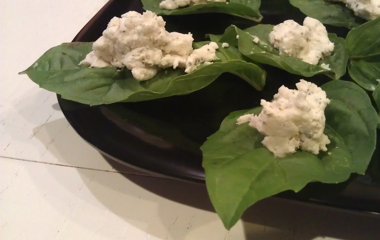 basil basil wrapped goat cheese ball recipe yummly basil wrapped goat ...