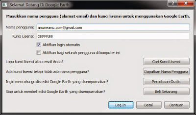 Google Earth Pro License