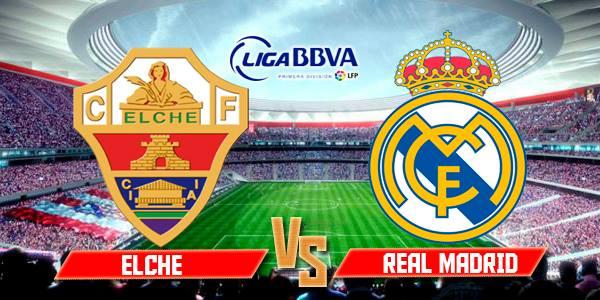 مشاهدة فيديو أهداف مباراة ريال مدريد وإلتشي في الدوري الاسباني اليوم السبت 22-2-2014