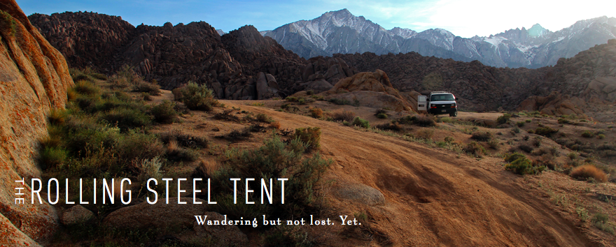 Rolling Steel Tent