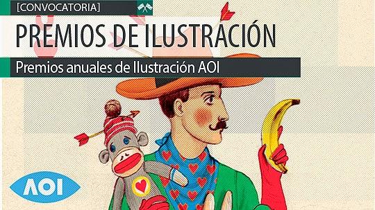 Premios de Ilustración. AOI Awards Ilustration.