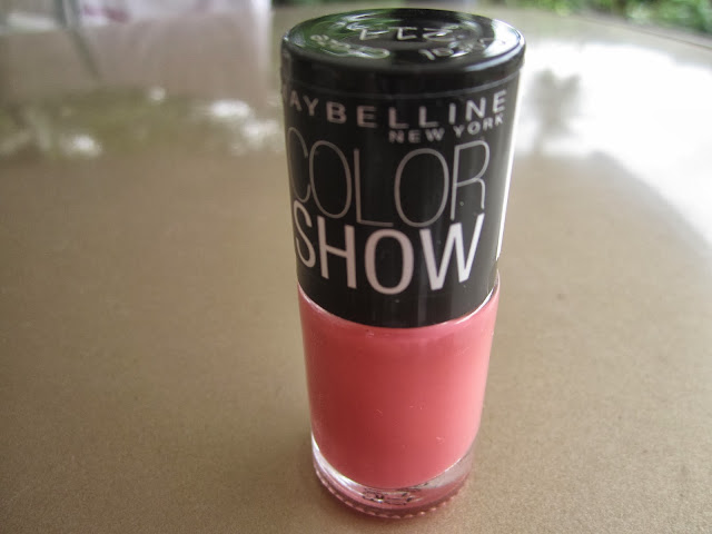 Maybelline Color Show in Coral Craze