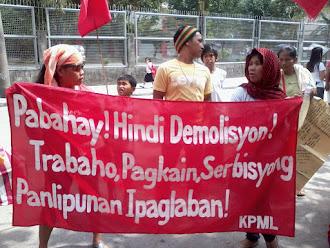 Pabahay, Hindi Demolisyon