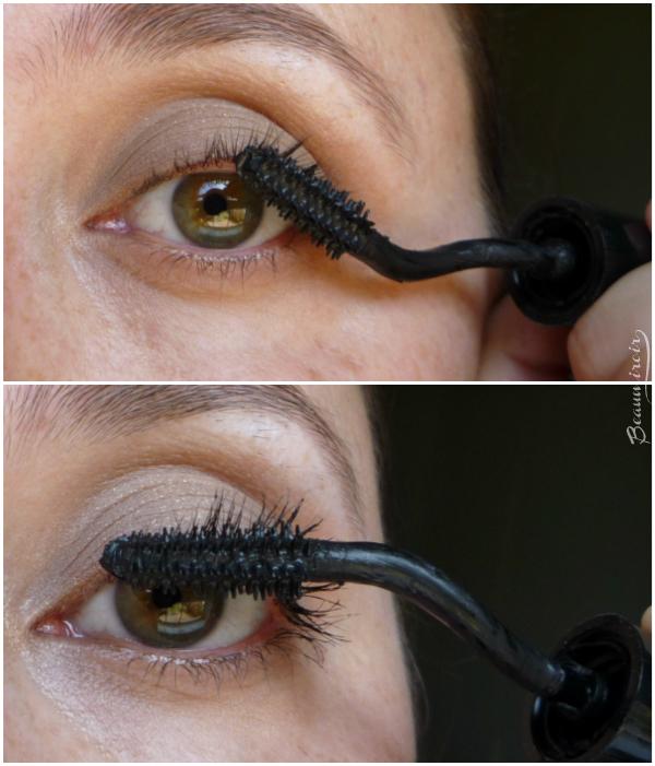 Lancome Grandiose mascara: application technique
