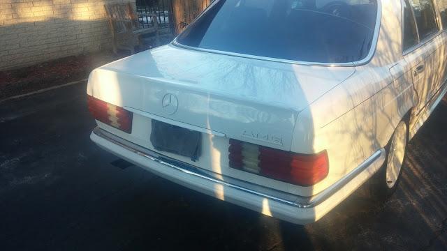 1983 mercedes w126 500 sel amg