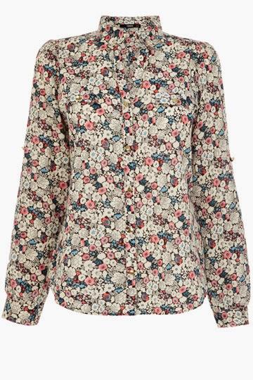 oasis flower shirt