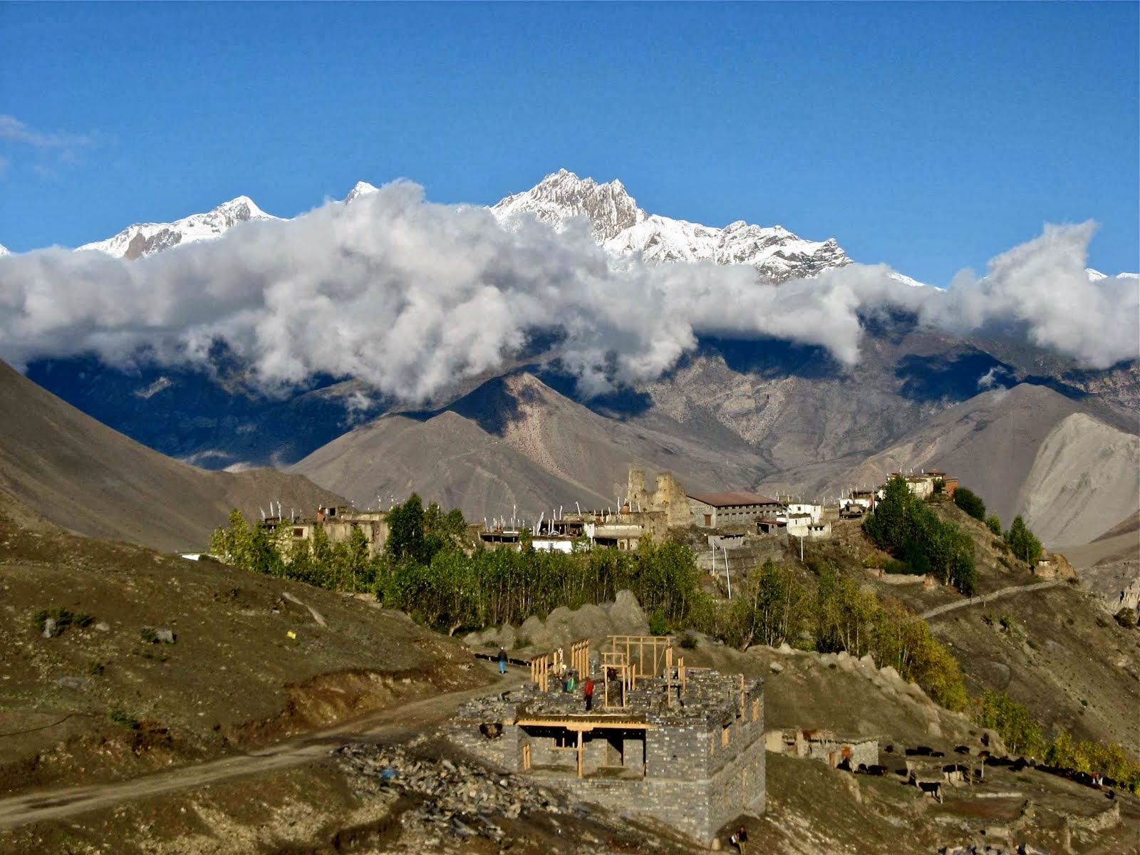 World Beautifull Places Nepal Annapurna Travel Guide Information And Images 2013