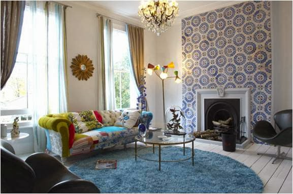 Dise o de autor maximalismo en interiores - Decoracion vintage salon ...