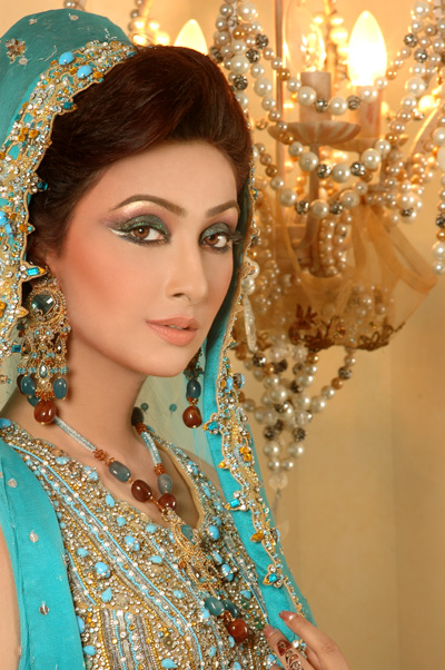 Pakistani Bridal Eyes MakeUp