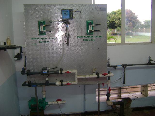 Planta de tratamiento de agua potable for Tambores para agua potable