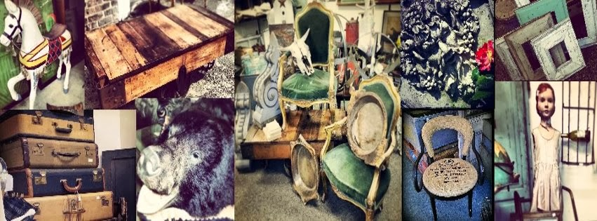 Recycled Relics and Antique Chic