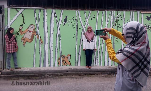 Street Art, Pekan Semeling, Semeling