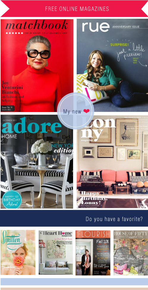 Free online magazines Via colourfulcarla.com