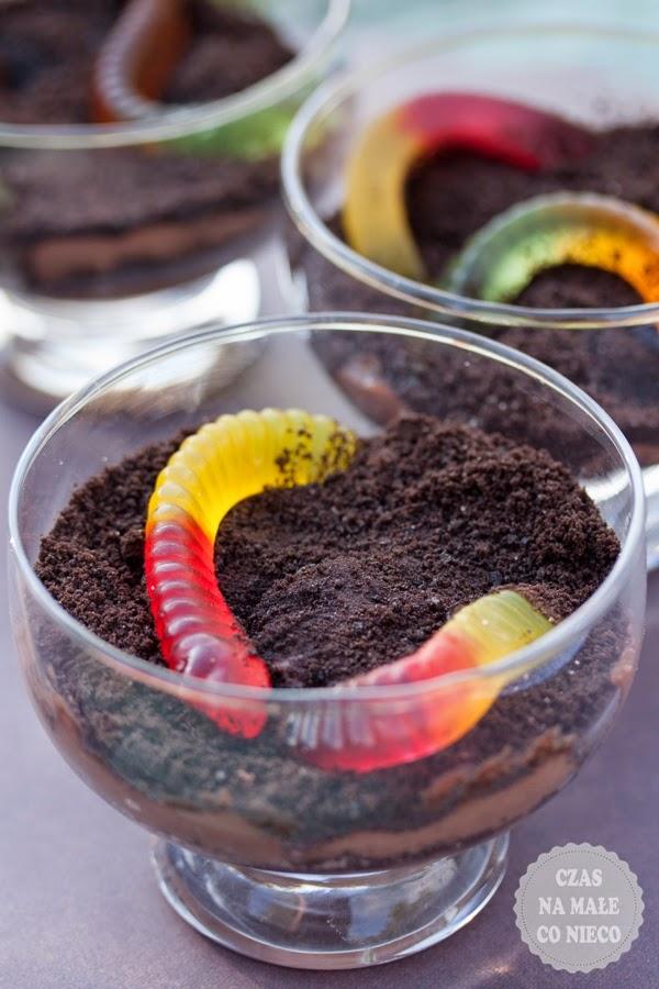 budyń czekoladowy z oreo