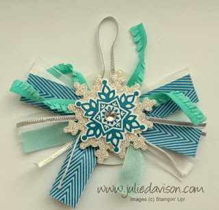 http://juliedavison.blogspot.com/2013/12/ribbon-scrap-christmas-bag-tag.html