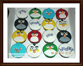 2D Angry Birds Cupcakes