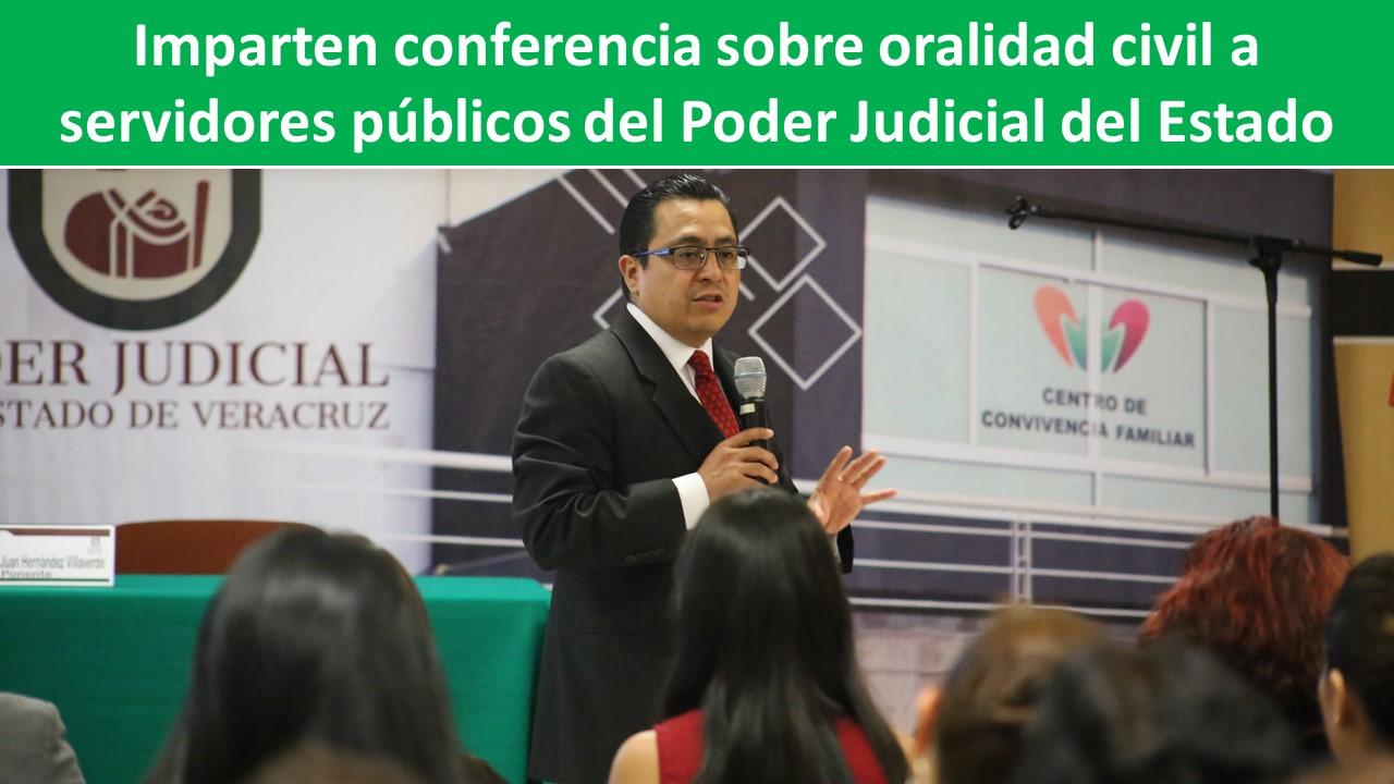oralidad civil a servidores públicos