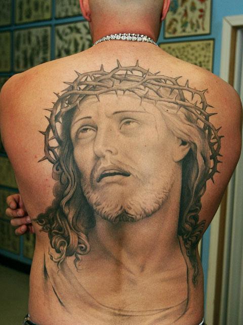 Tribal Jesus Tattoo likewise Totem Pole Tattoos besides Polynesian Tattoos besides Sleeping Baby Angel Tattoo besides Mermaid Tattoos. on aztec animal designs
