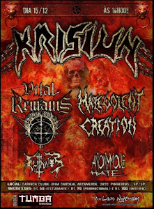 Krisiun, Vital Remains, MC and others