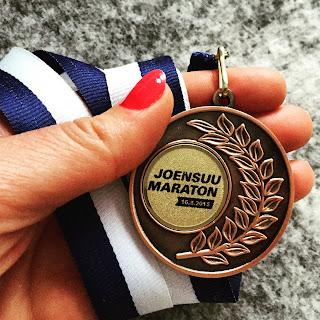Joensuu maraton 2015.