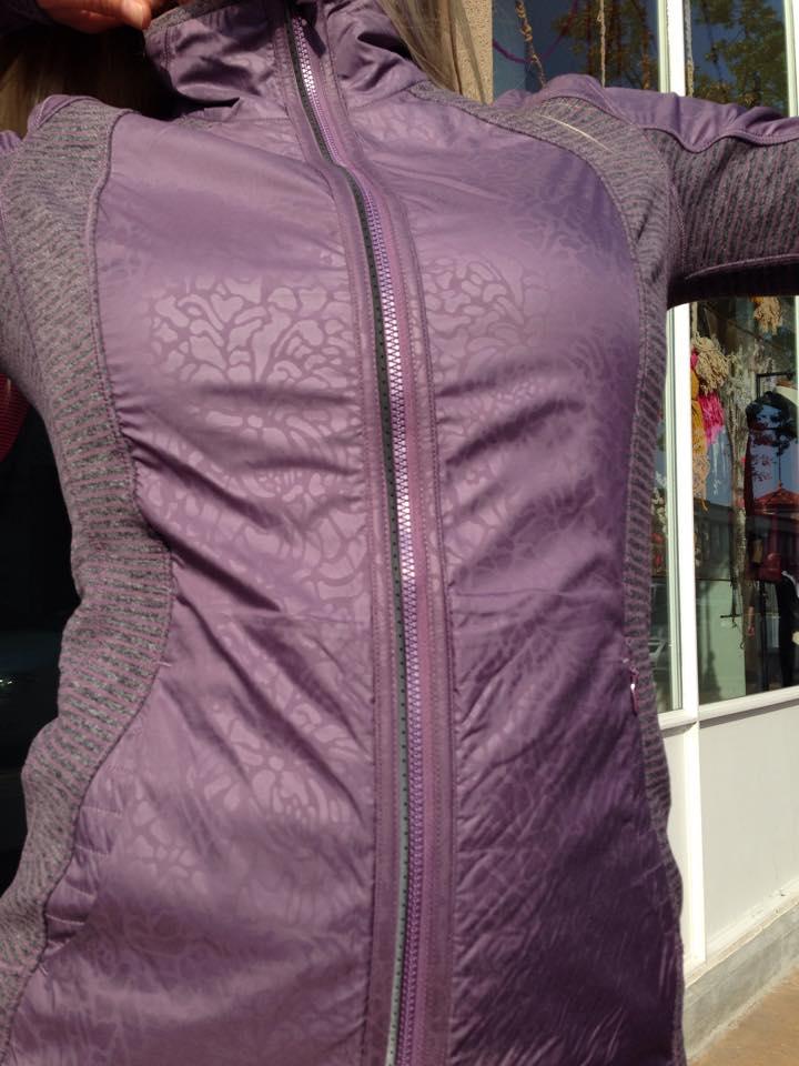 lululemon purple fog rebel runner jacket