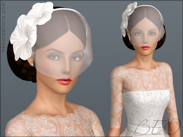 My Sims 3 Blog: Bridal Set by BEO