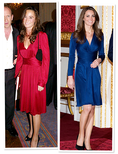 Style Stealer Kate Middleton Princesses And Pippa Both Wear The Issa Engagement Dress