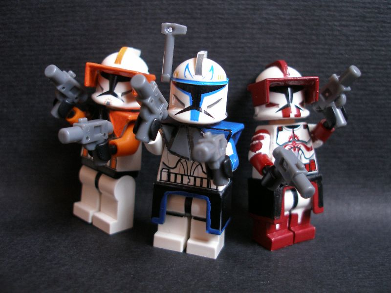 Clone Wars Captain Rex Lego Educational Resource
