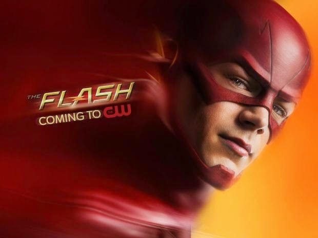 new the flash poster