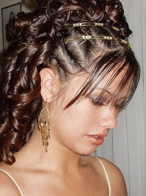 Black Girl Prom Hairstyles