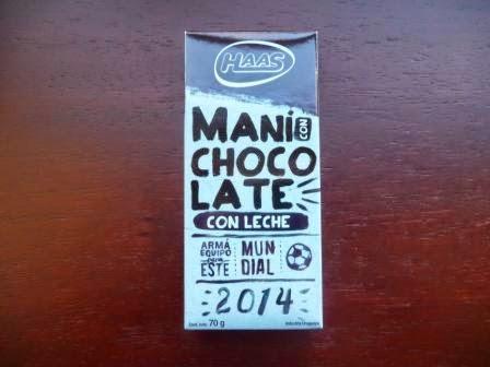 Maní con chocolate con leche Haas