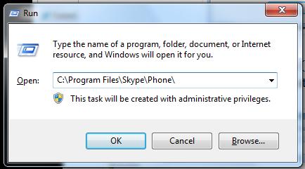 Windows Run Command