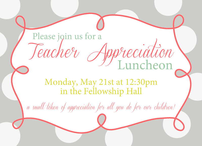 Luncheon Invitation Template – Lunch Flyer Template
