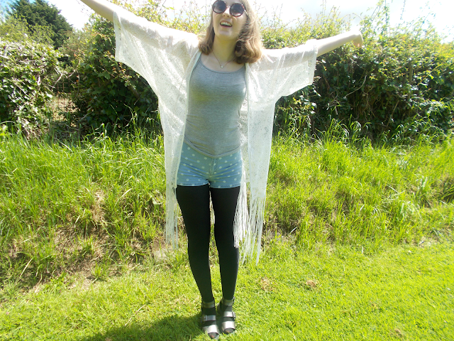 summer fashion outfit ootd vlog primark new look kimono shorts get ready with me youtube blogger