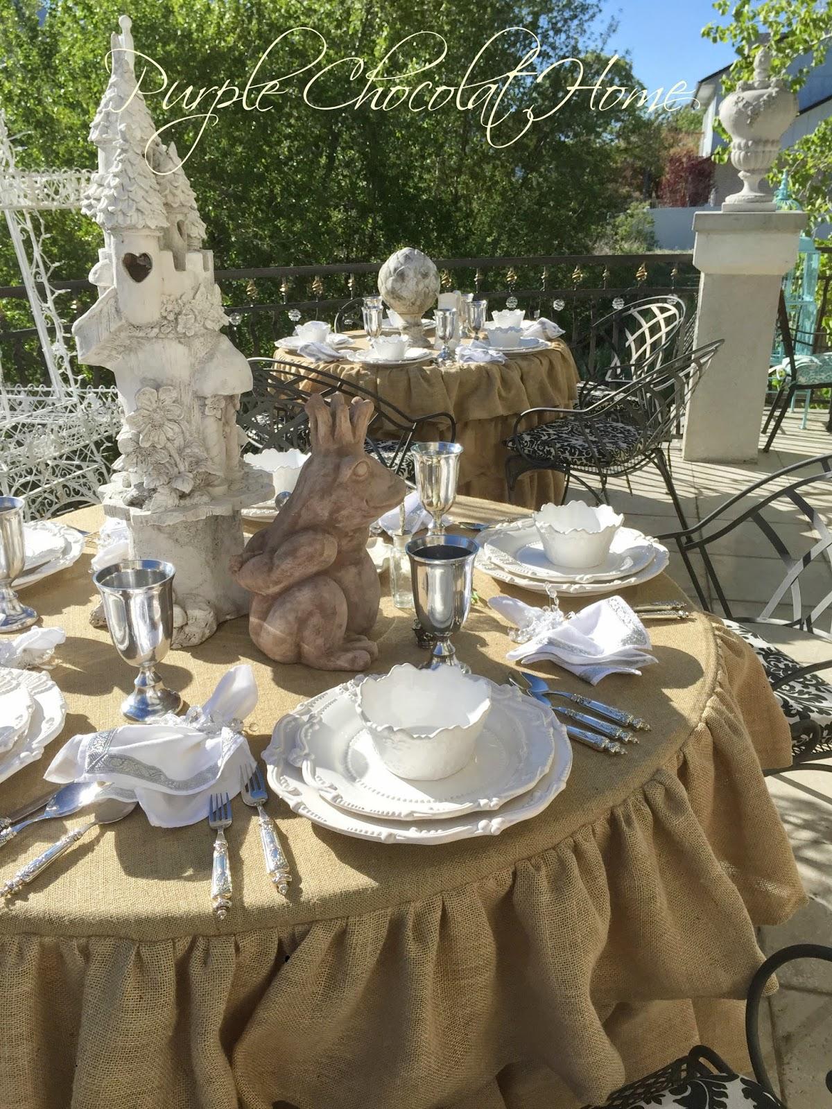 A Frog Prince Table