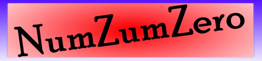 NumZumZero - a card game