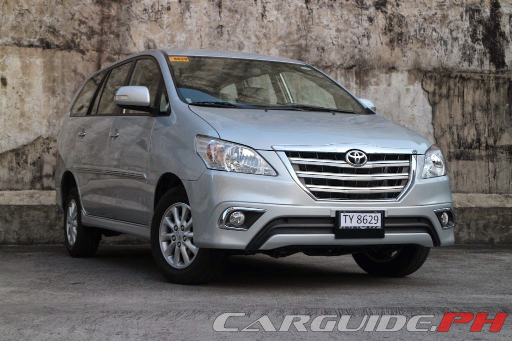 : 2014 Toyota Innova 2.5 V | CarGuide.PH - Philippine Car News