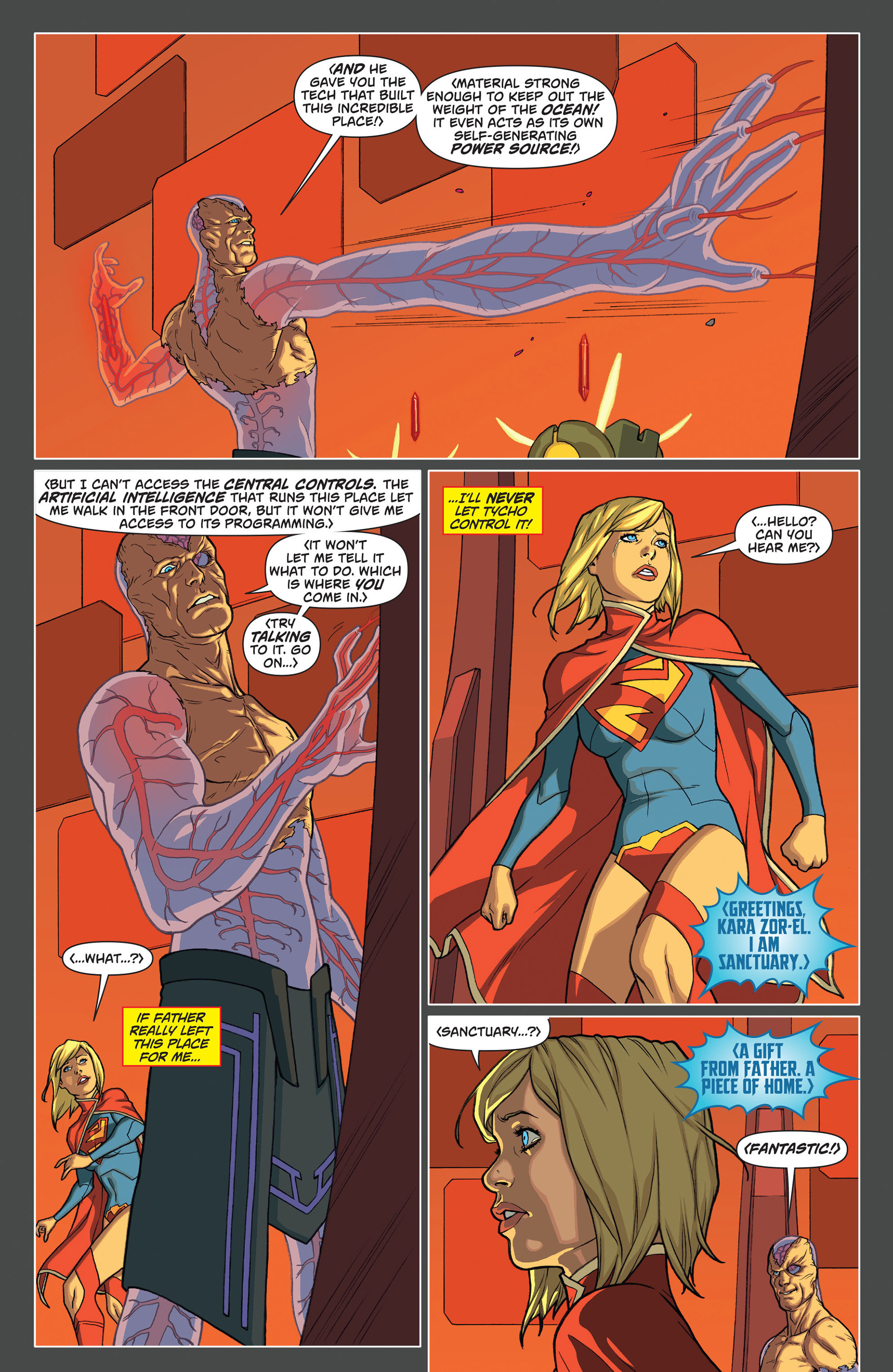 Supergirl (2011) Issue #13 #15 - English 9