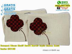 Dompet Blacu Motif Batik Bordir Lapis Dalam Busa