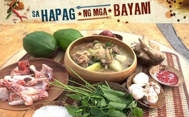 Tinolang Manok sa Tagalog Recipe