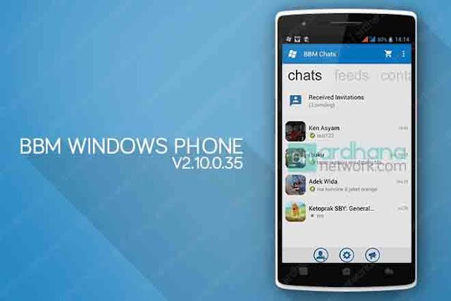 BBM Windows Phone V2.10.0.35