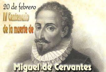 Efemérides, Miguel de Cervantes..