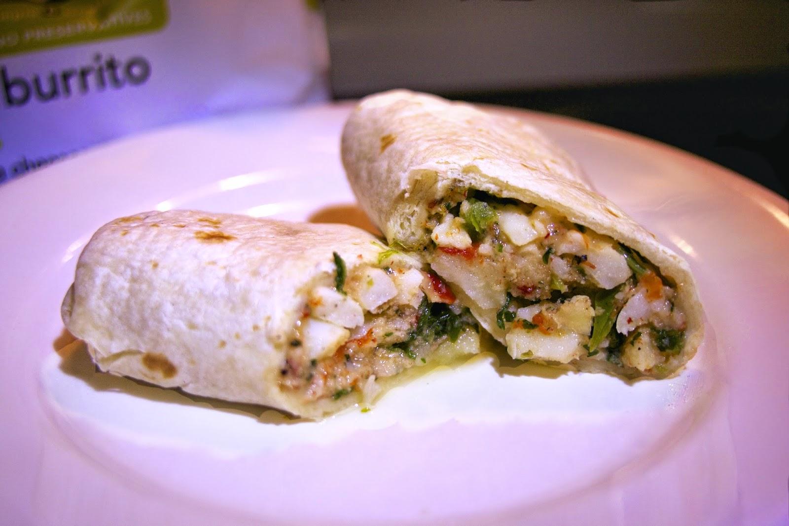 Breakfast Burrito: simplelivingeating.com