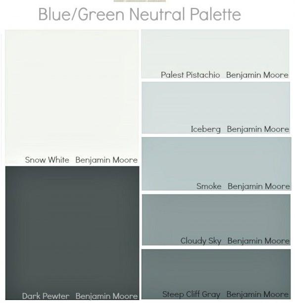 Hoy me gusta el color gris decoraci n retro - Gama de colores grises para paredes ...