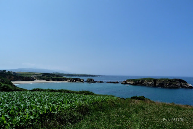 Playa de Santa Gadea e Islas Pantorgas - Tapia de Casariego - Asturias