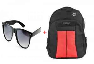 Purys Laptop Bag with Free Wayfarer at just Rs.250 only:buytoearn