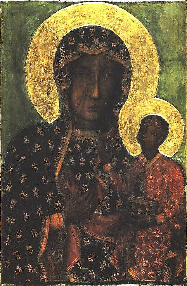 AUGUST 26 - MOTHER OF THE CHURCH - Our Lady of Czestochowa, Black Madonna of Poland